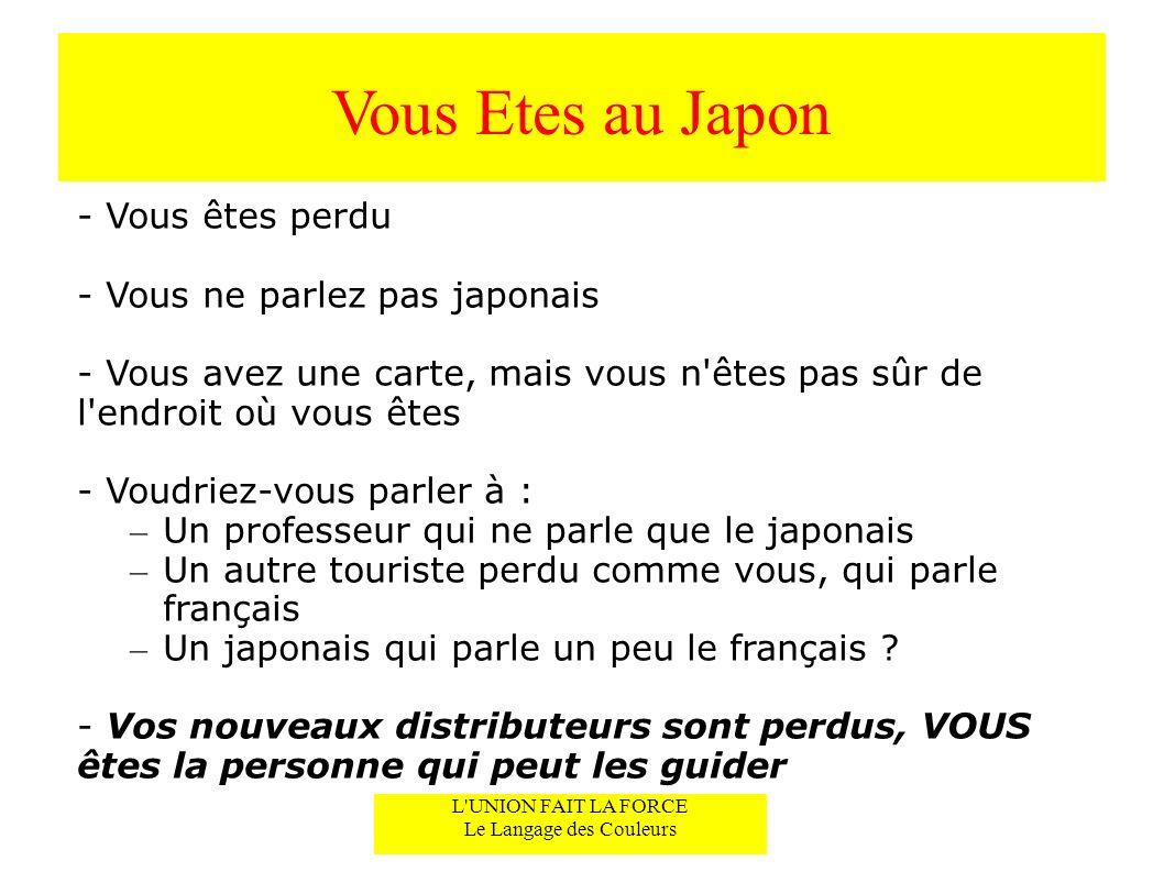 Vous Etes au Japon - Vous êtes perdu - Vous ne parlez pas japonais - Vous avez une carte, mais vous n'êtes pas sûr de l'endroit où vous êtes - Voudrie