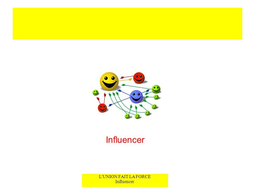 L'UNION FAIT LA FORCE Influencer Influencer