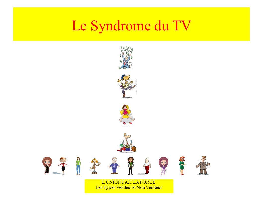 Le Syndrome du TV L'UNION FAIT LA FORCE Les Types Vendeur et Non Vendeur