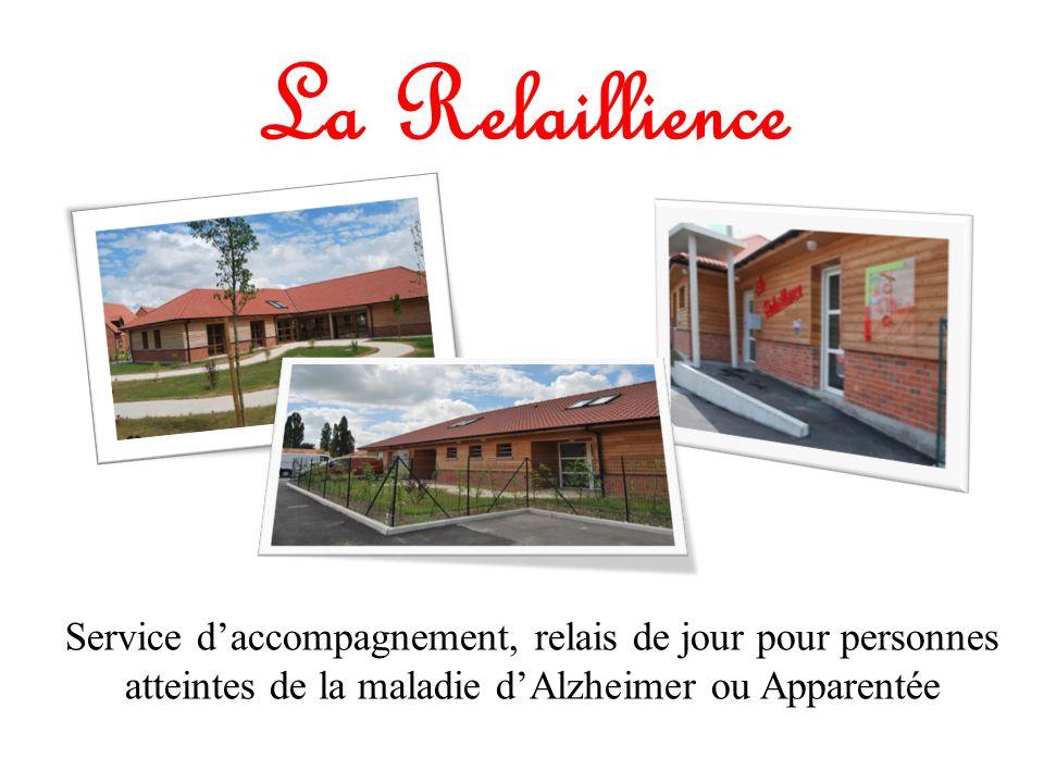 La Relaillience Service daccompagnement, relais de jour pour personnes atteintes de la maladie dAlzheimer ou Apparentée