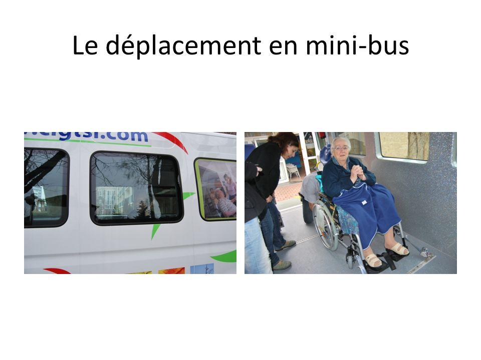 Le déplacement en mini-bus