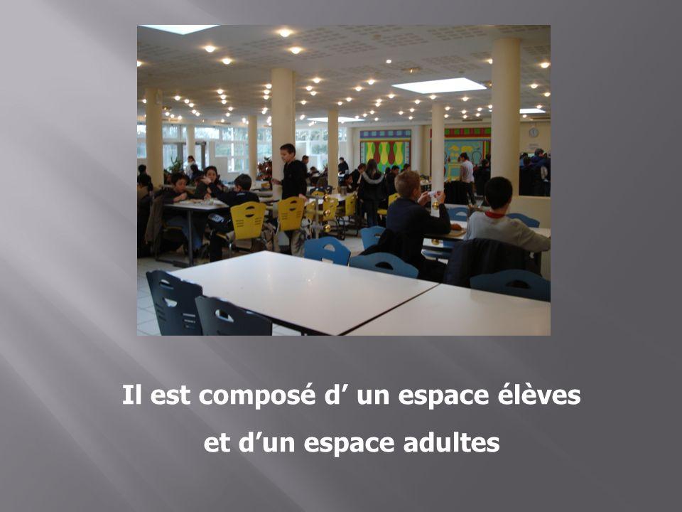 Il est composé d un espace élèves et dun espace adultes