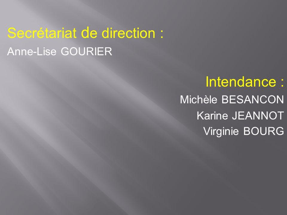 Une équipe vie scolaire Céline SCHMIT Conseillère principale déducation 5,25 postes d assistants déducation