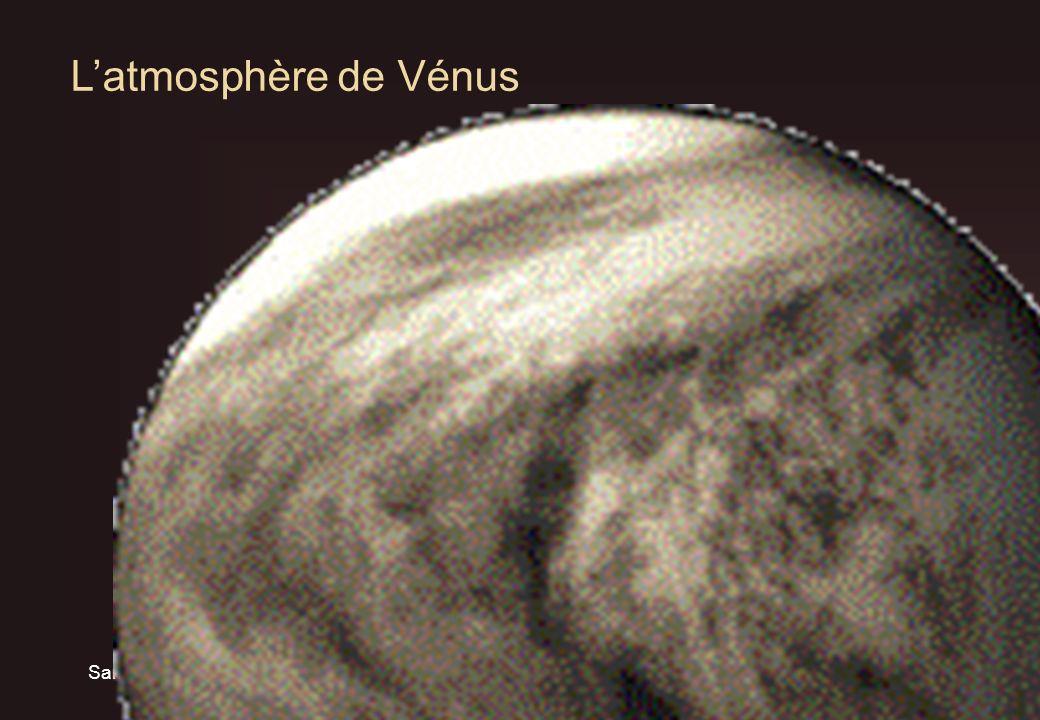Samedi 3 avril 2004T. Widemann Obs. Paris/LESIA6 Latmosphère de Vénus