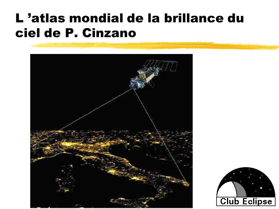 L atlas mondial de la brillance du ciel de P. Cinzano
