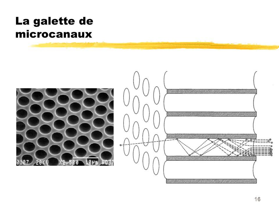 16 La galette de microcanaux