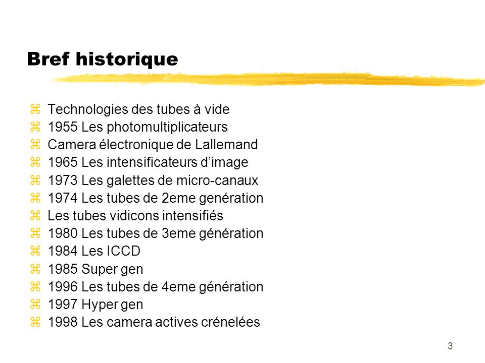 44 Couplage en sortie des tubes AREA ARRAYS WITH FIBER OPTIC FACE PLATE zAPPLICATIONS yCoupling to image intensifier yLaser imaging yScintillator coating by the customer zMAIN FEATURES y5 µm fibers with extra mural absorption y1/1 ratio or tapers (demagnifying fibers) yApplicable to any TCS area array.