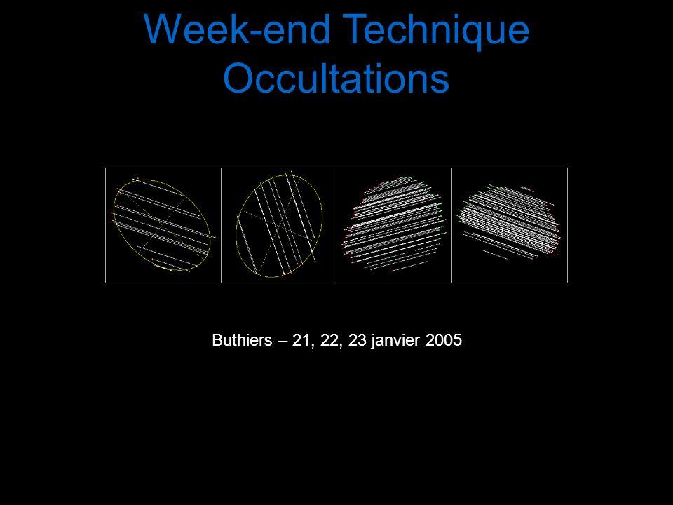 Quelques conseils… Faites des rapports complets Date: 2004/05/12 De: machin999@bidule.com Sujet: Occultation dhier soir « Occultation négative chez moi.