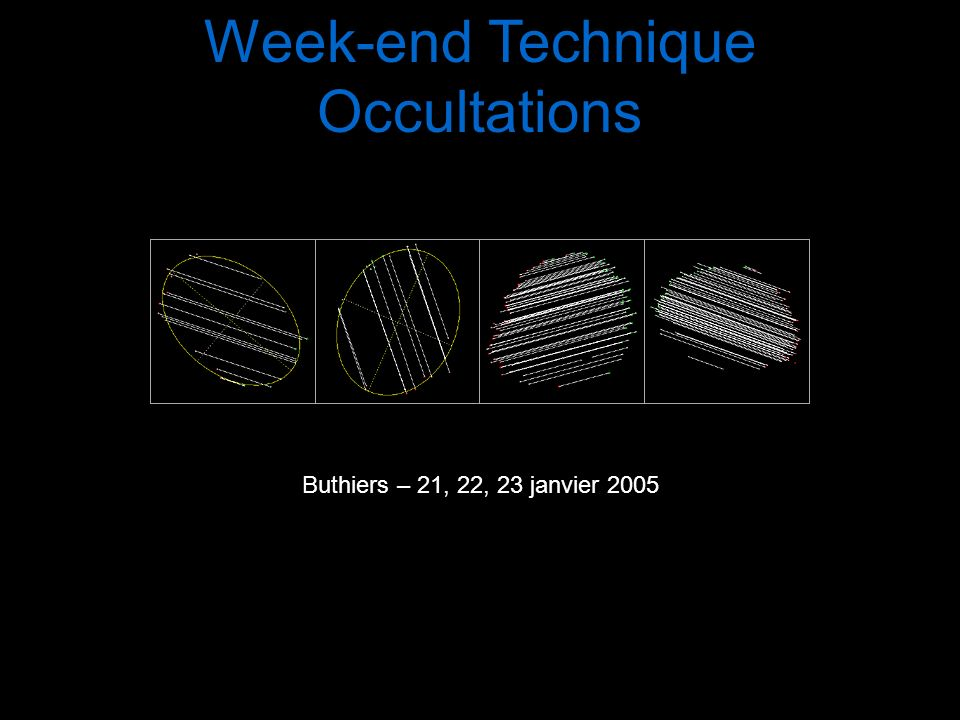 Intervention 3 Prédictions, sites web, associations Eric Frappa – Samedi 22 janvier 2005