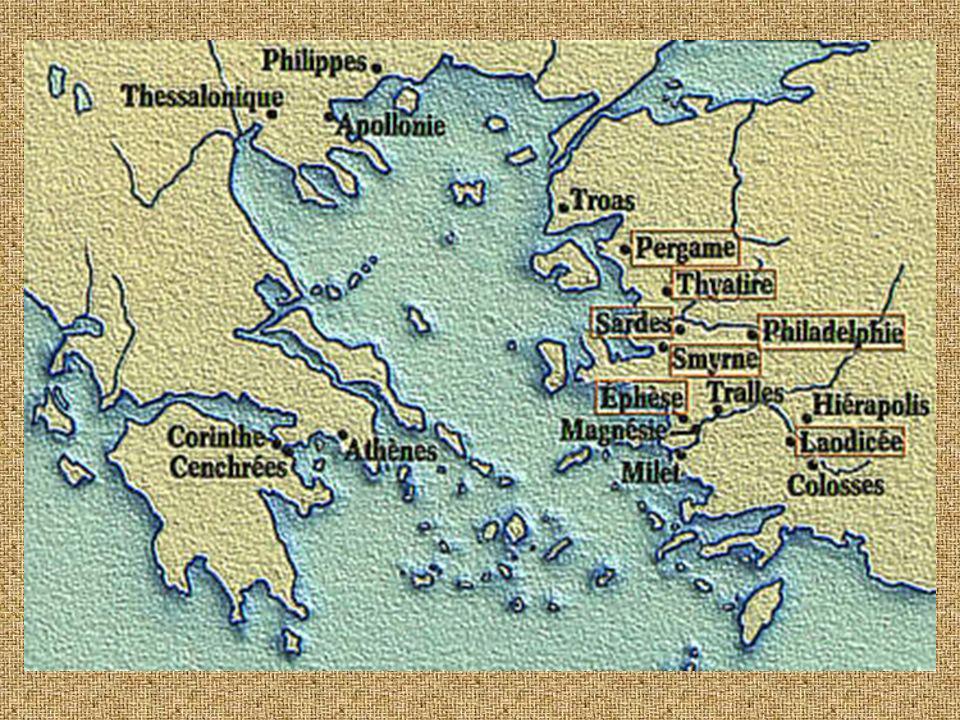 Pergame (Bergama) Cette ville abritait le centre de 4 grands cultes païens : ceux de Zeus, Athéna, Dionysos et Asklepios.