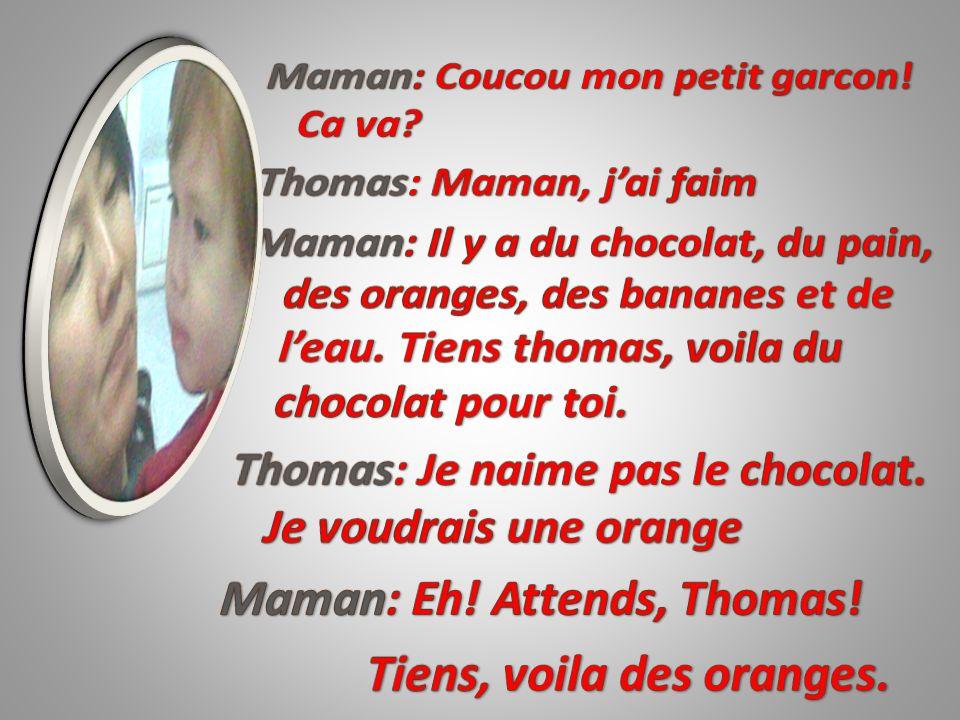 Sally: Bonjour, Monsieur.Candy: Bonjour, Madame.
