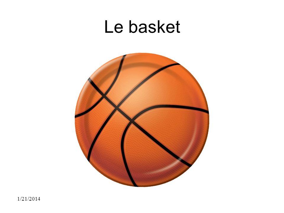 Le basket 1/21/2014