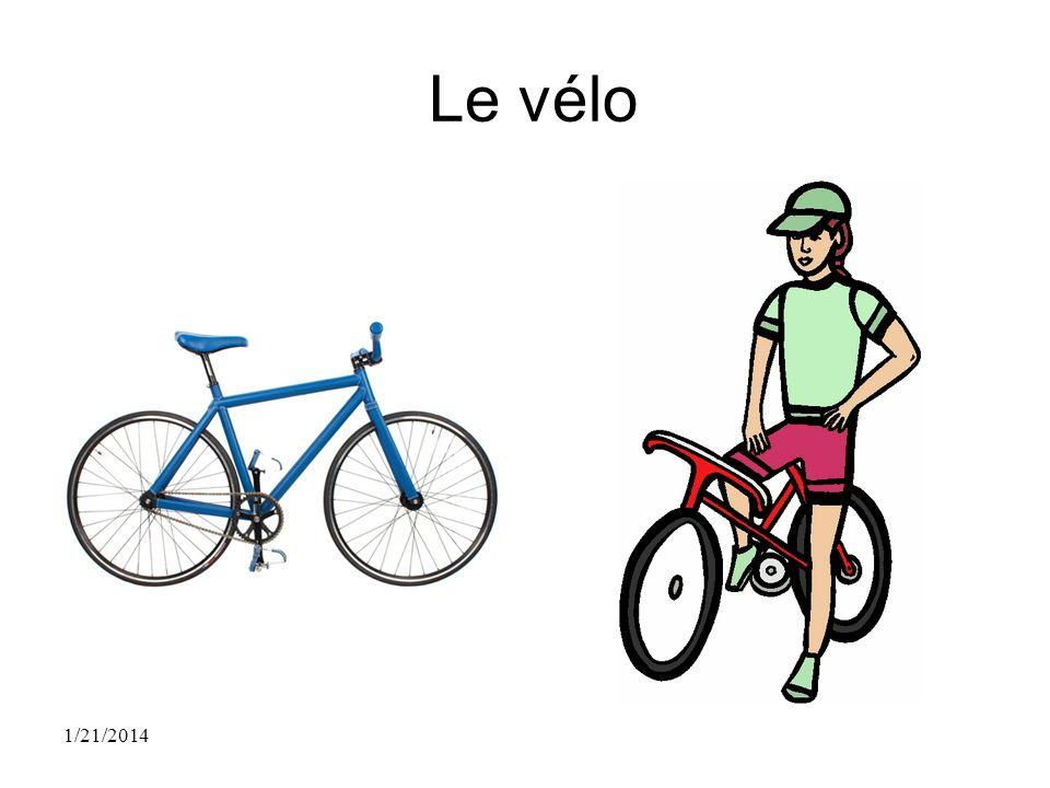 Le vélo 1/21/2014
