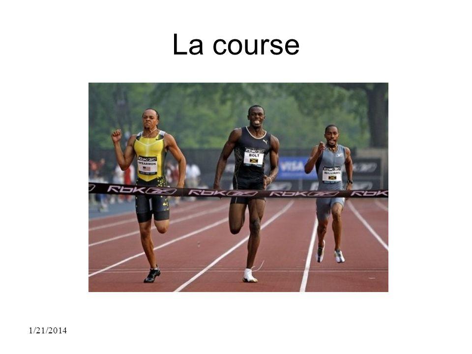 La course 1/21/2014