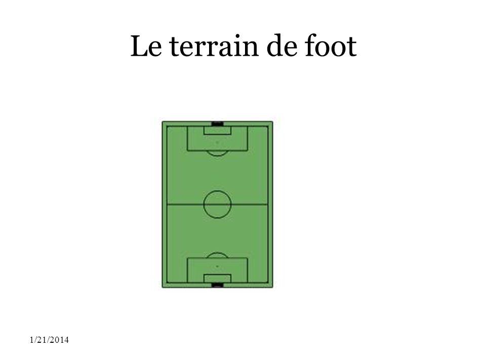 Le terrain de foot 1/21/2014