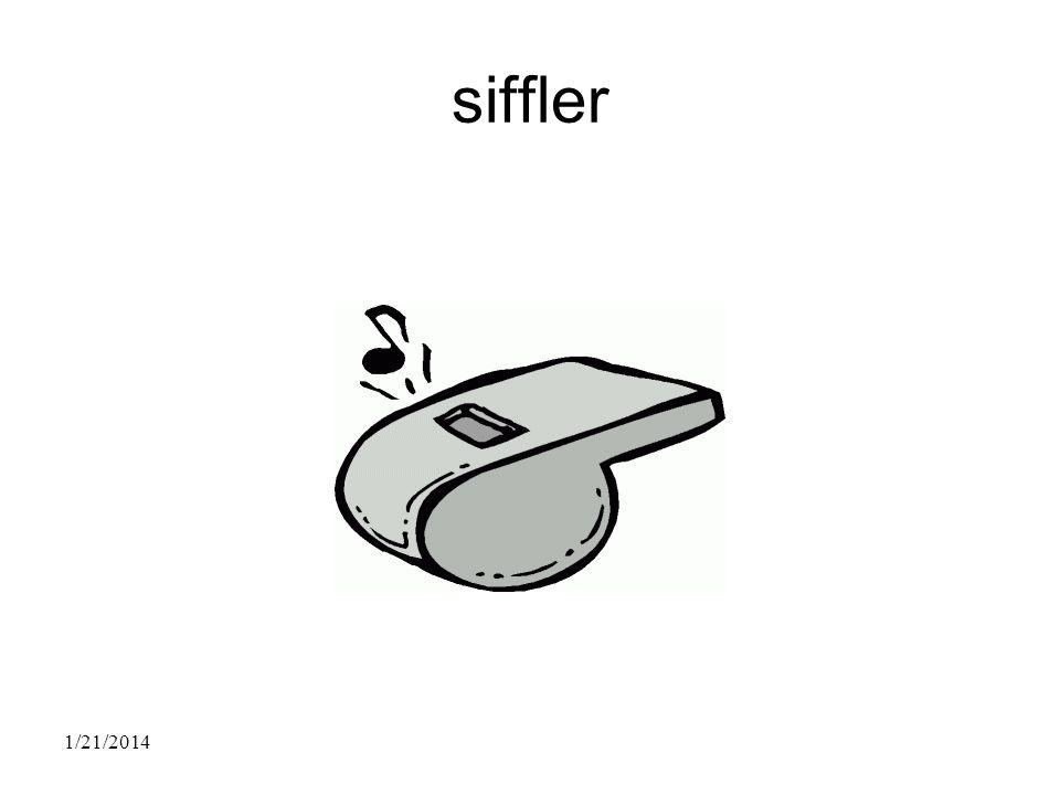 siffler 1/21/2014