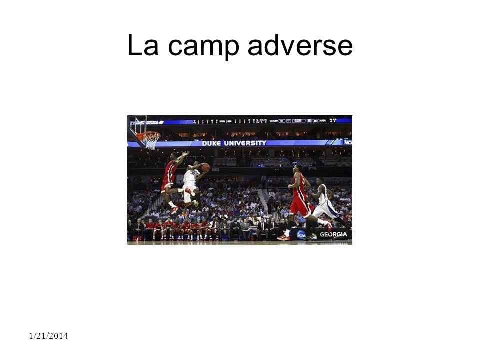 La camp adverse 1/21/2014
