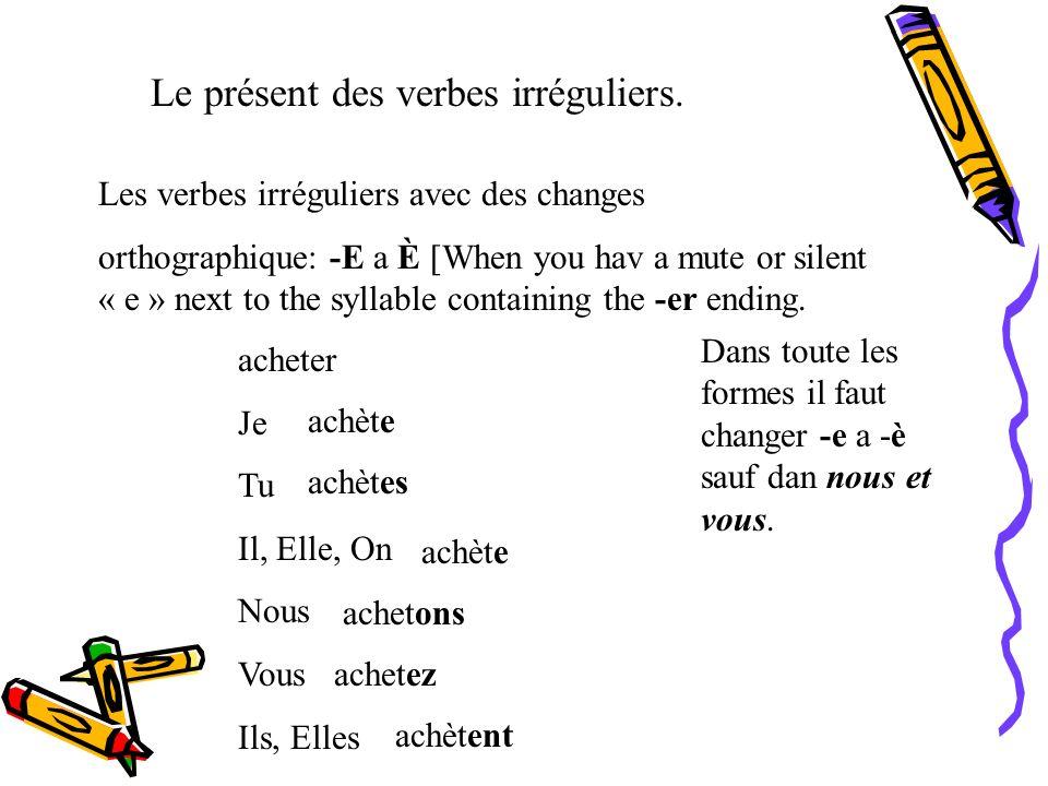 Comment conjuguer le verbe essayer au prsent de lindicatif