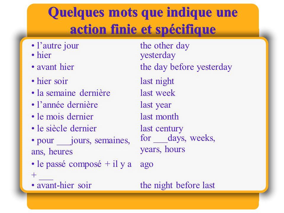 Les verbes de sentiments ou émotions Quelques verbes qui expriment des pensées o émotions.