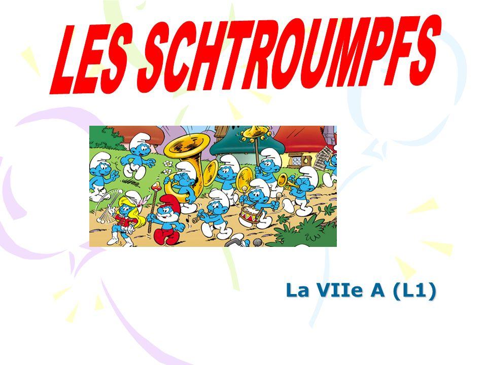 Les Schtroumpfs est une série de bande dessinée belge racontant l histoire d un peuple imaginaire de petites créatures bleues qui habitent dans un village champignon au milieu d une vaste forêt.bande dessinée belge