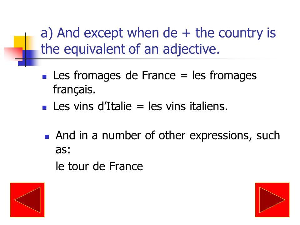This rule does not apply after BIEN DES (many), ENCORE DES (more) and LA PLUPART DE: Bien des règles ont des exceptions.