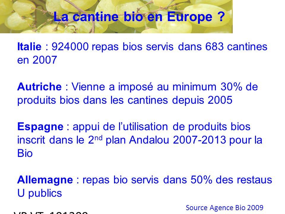 VP VT 101209 La cantine bio en Europe .