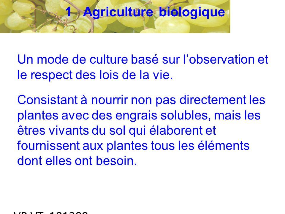 VP VT 101209 Un mode de culture basé sur lobservation et le respect des lois de la vie.