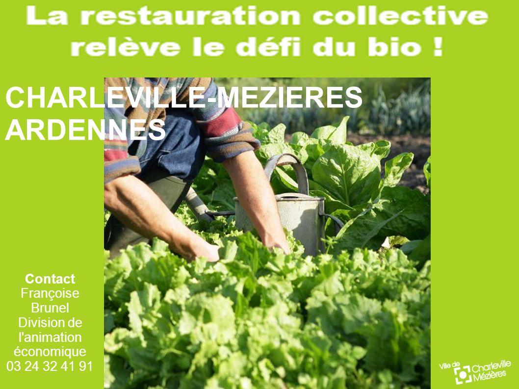 Contact Françoise Brunel Division de l'animation économique 03 24 32 41 91 CHARLEVILLE-MEZIERES ARDENNES
