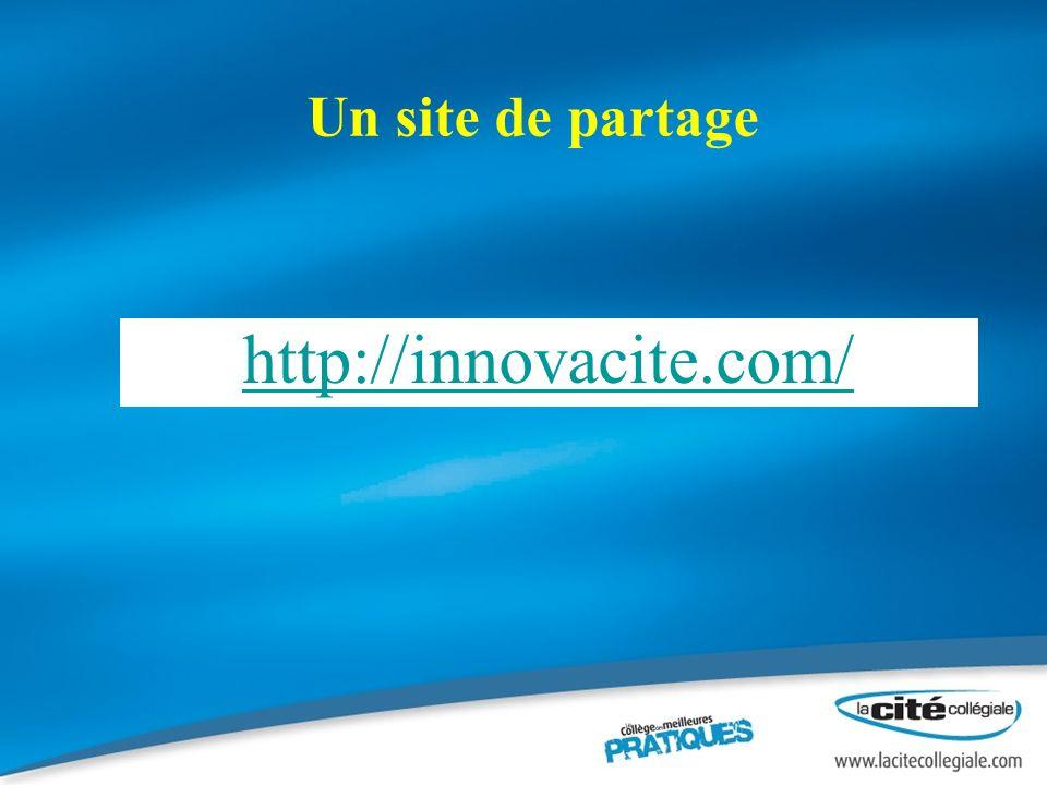 Un site de partage http://innovacite.com/