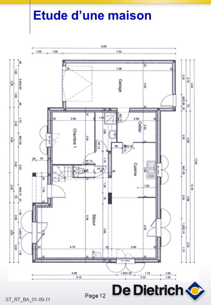 Page 12 ST_RT_BA_01-09-11 Etude dune maison