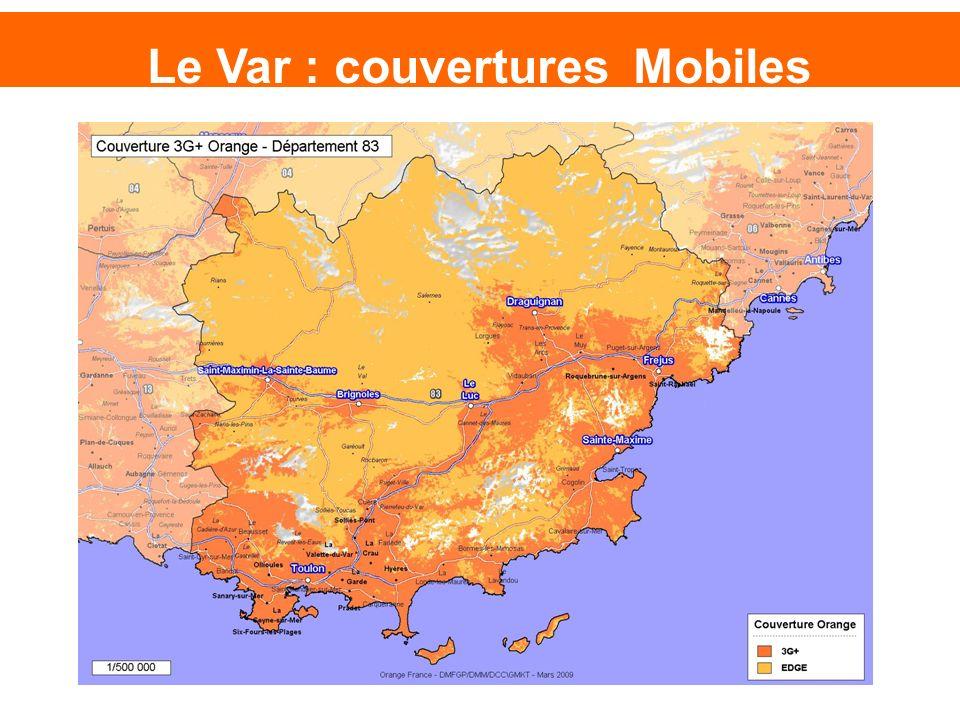 Le Var : couvertures Mobiles
