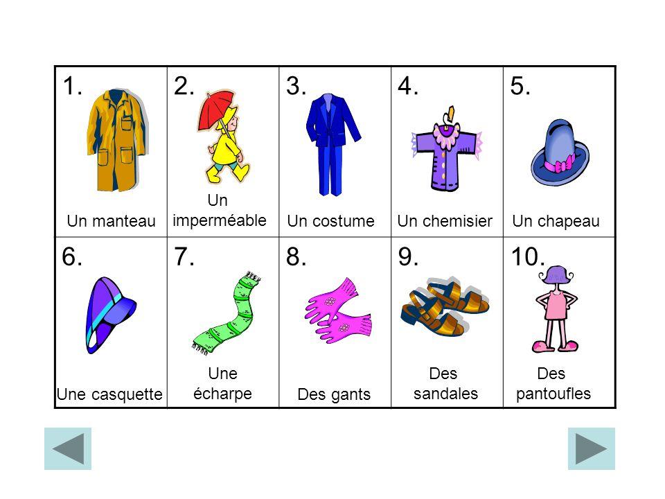 Les Tissus Relie les tissus, puis clique pour vérifier les réponses: FRANÇAIS en cuir en laine en soie en coton en nylon en jean ANGLAIS silk nylon leather denim woollen cotton
