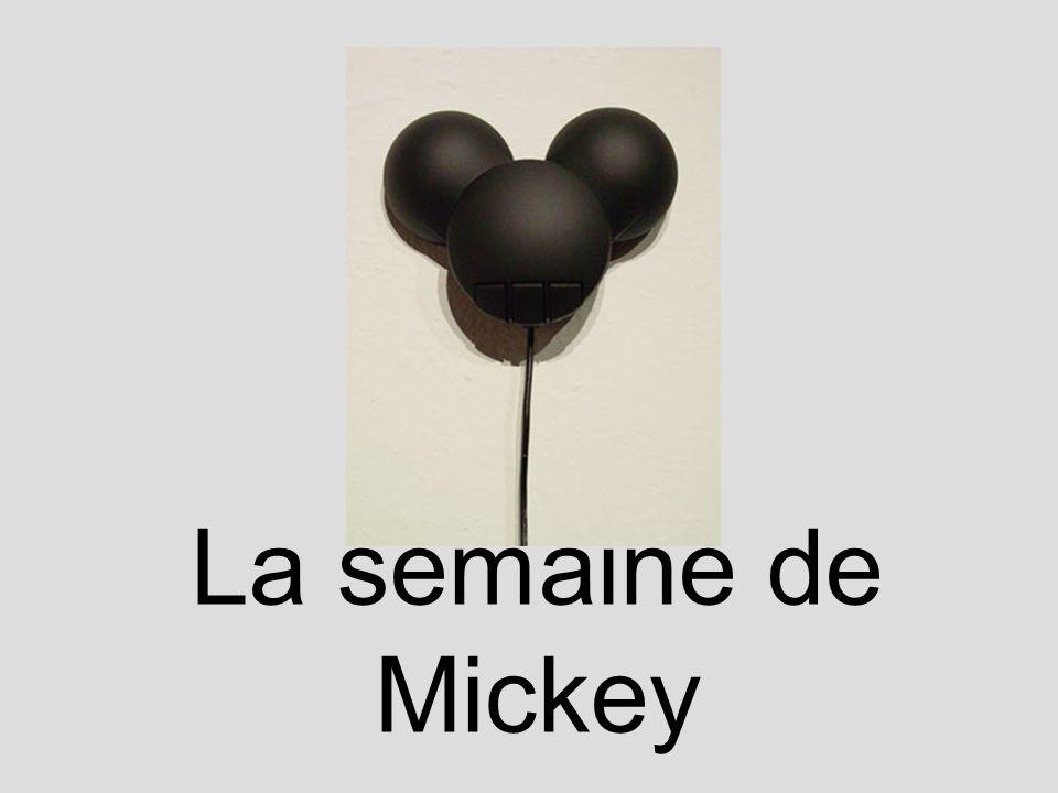 La semaine de Mickey