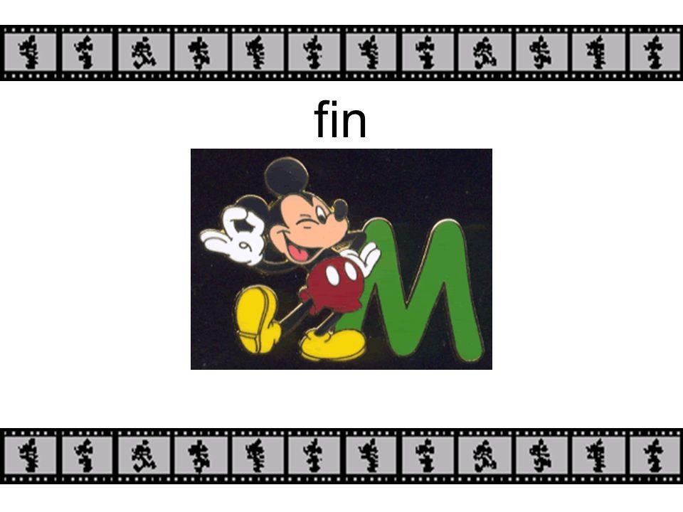 Mickey aime parler anglais, mais il ADORE parler français!