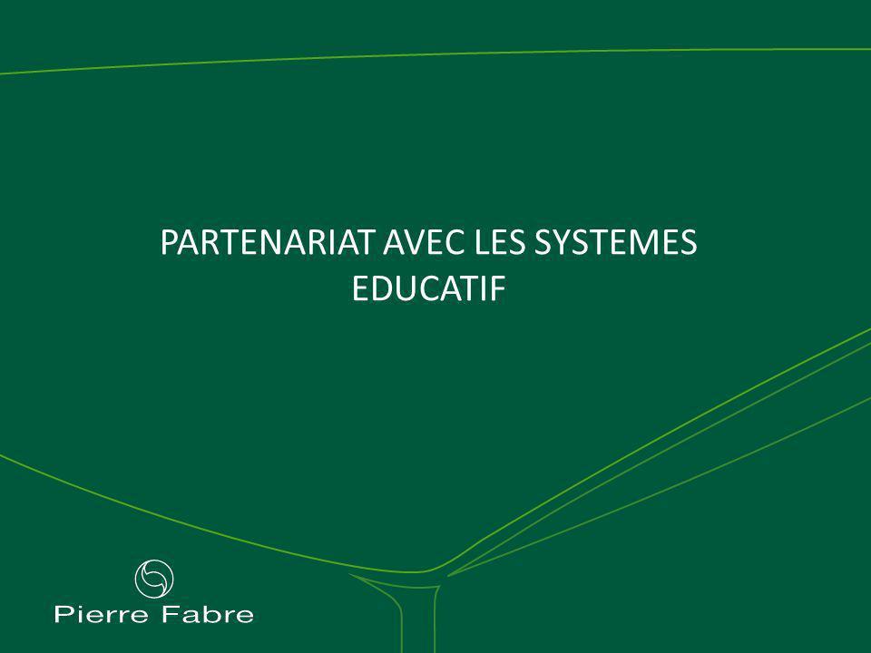 PARTENARIAT AVEC LES SYSTEMES EDUCATIF