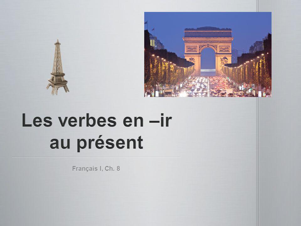 Français I, Ch. 8