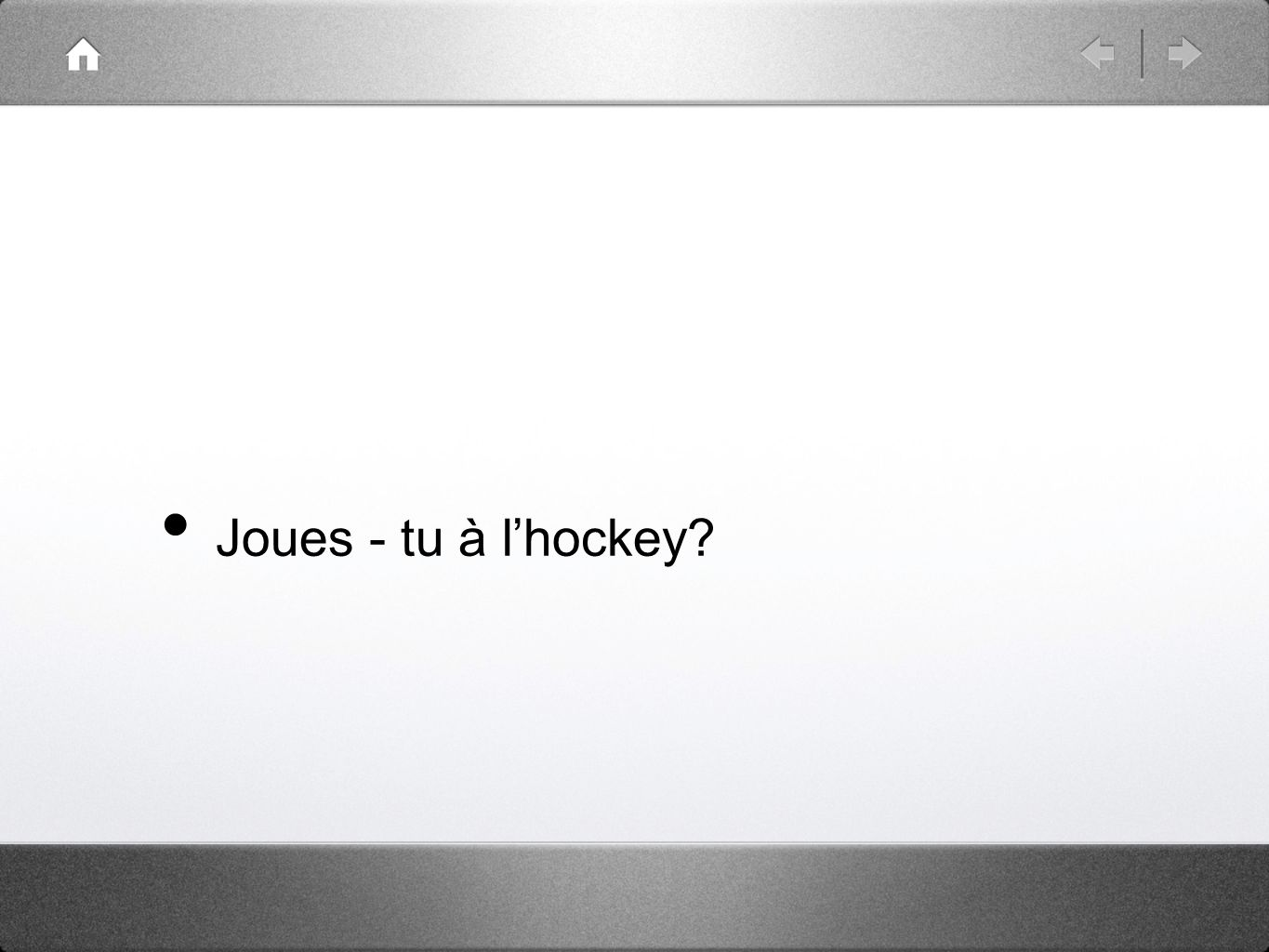Joues - tu à lhockey