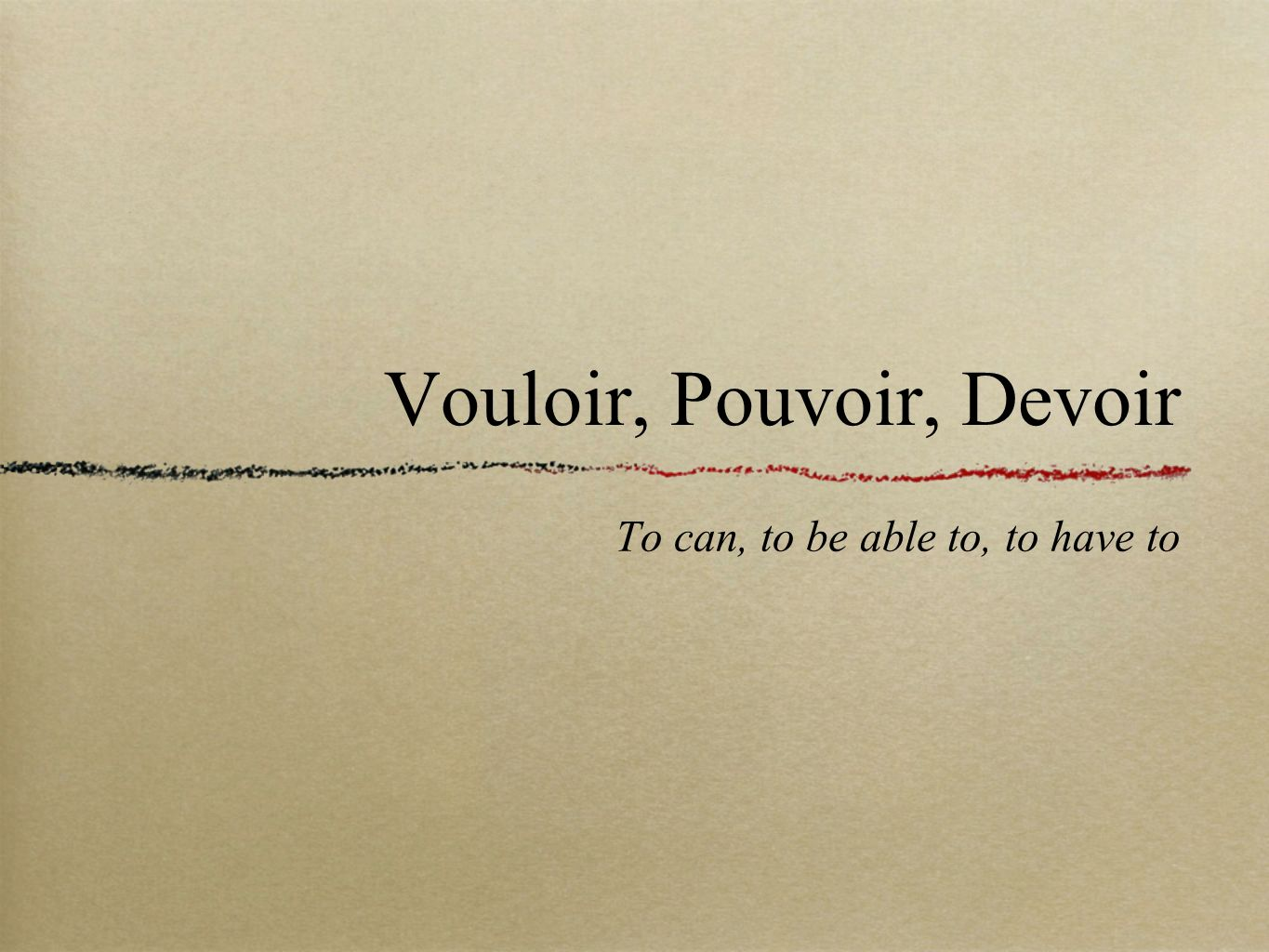 They have to: