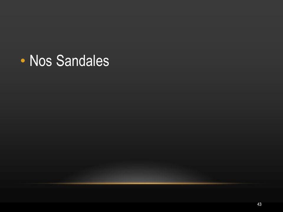 43 Nos Sandales