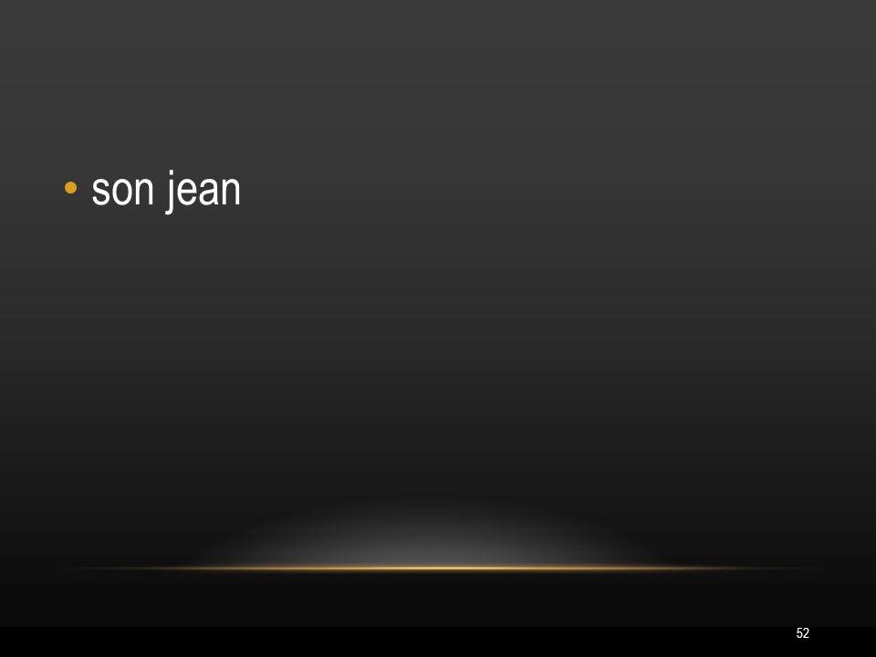 52 son jean
