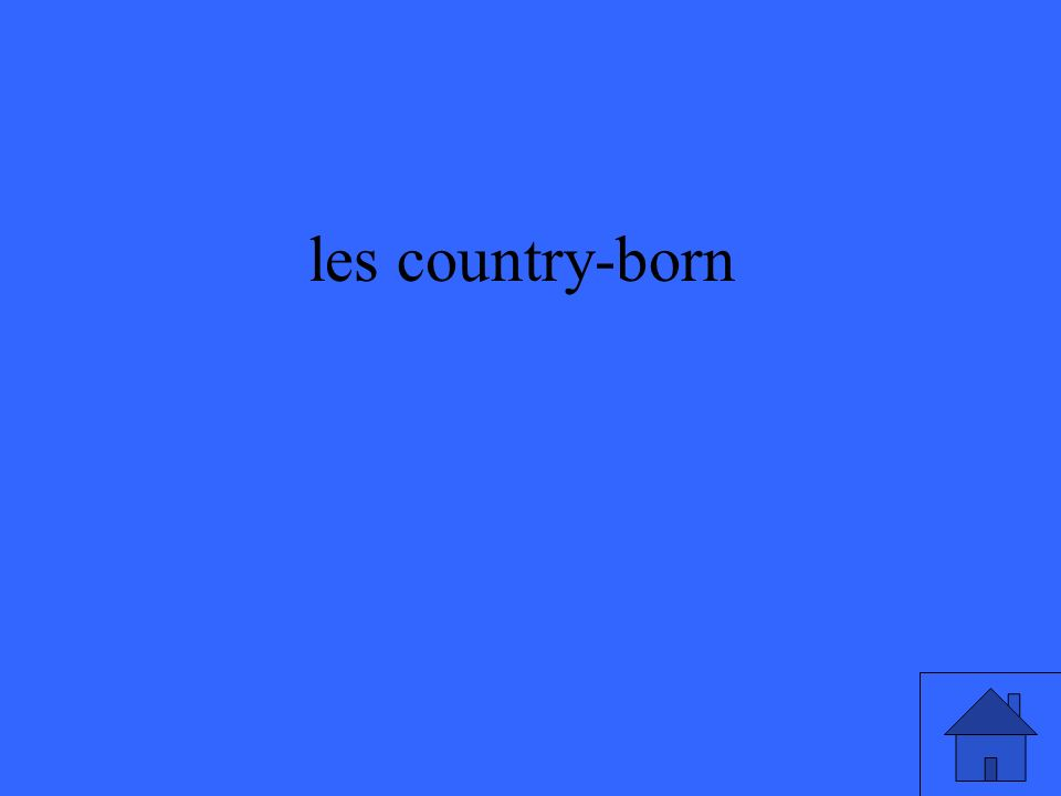 les country-born