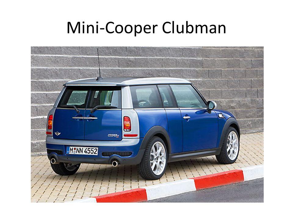 Mini-Cooper Clubman