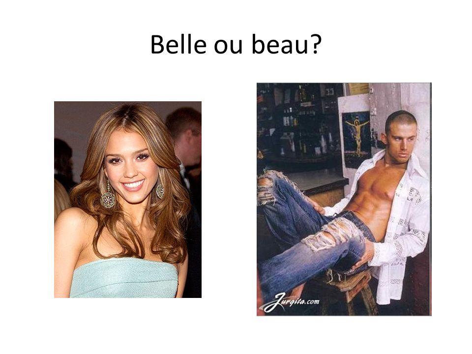 Belle ou beau?