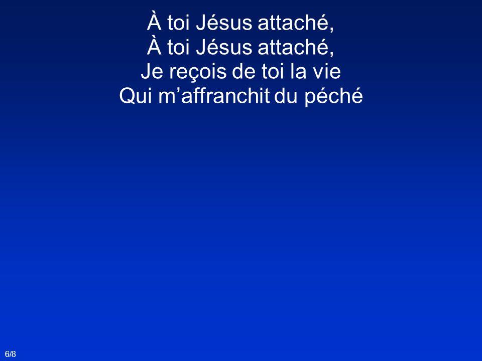 Jésus en payant ma dette, À grand prix ma racheté, Et déjà ma place est prête Vers lui, pour léternité.
