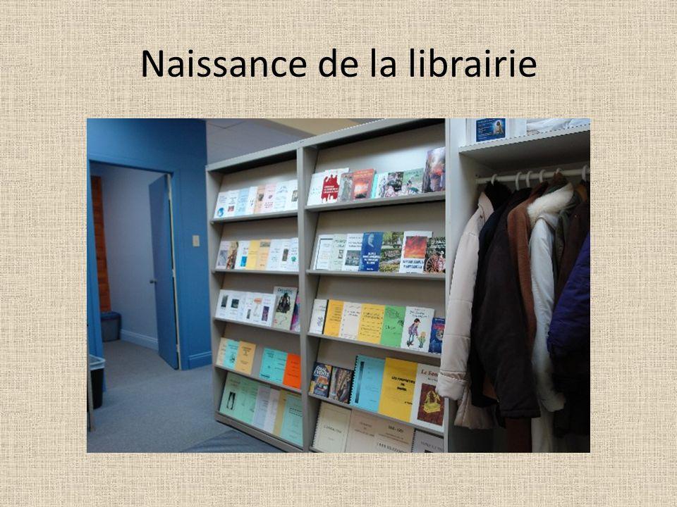 Naissance de la librairie