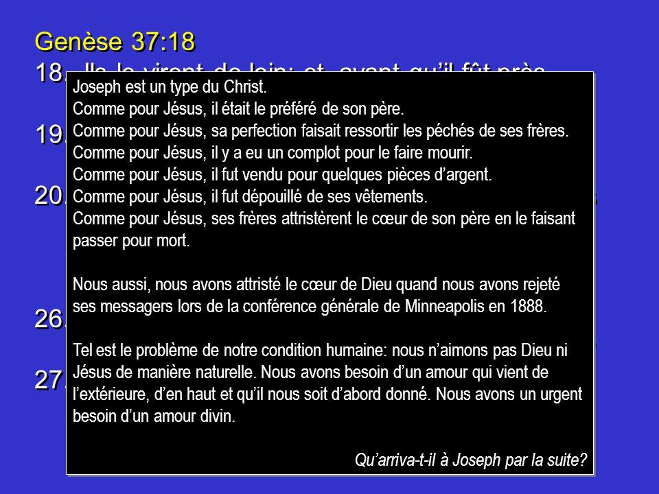 Genèse 43:23 23.Lintendant répondit: Que la paix soit avec vous.