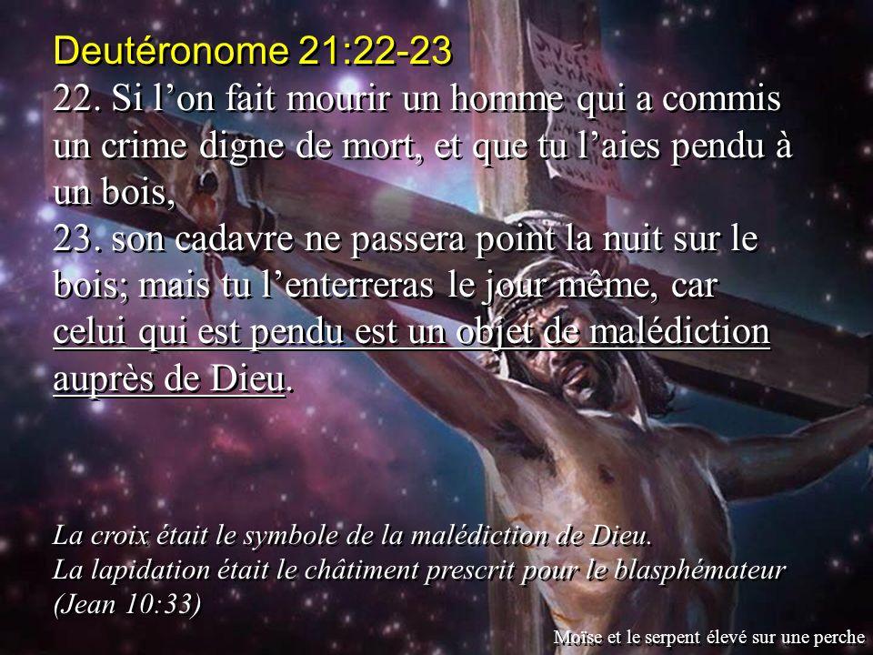 Deutéronome 21:22-23 22.