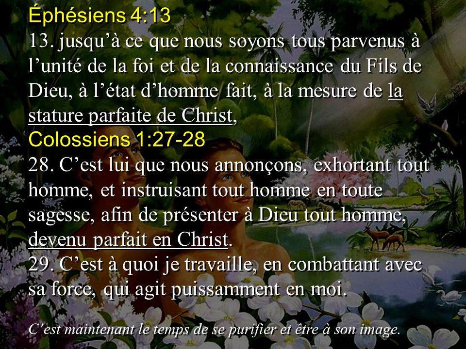Éphésiens 4:13 13.