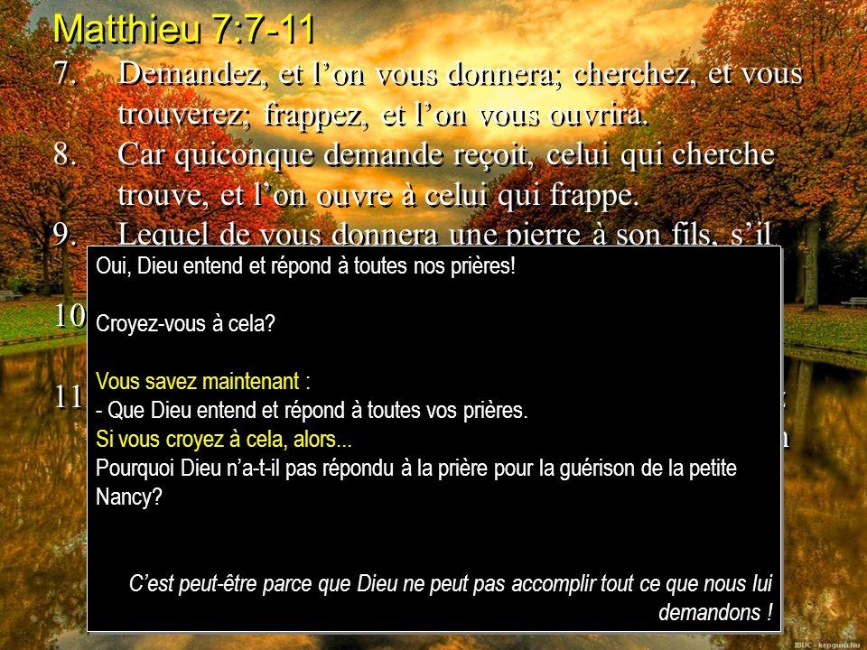 Job 1:8-12 8.LÉternel dit à Satan: As-tu remarqué mon serviteur Job.