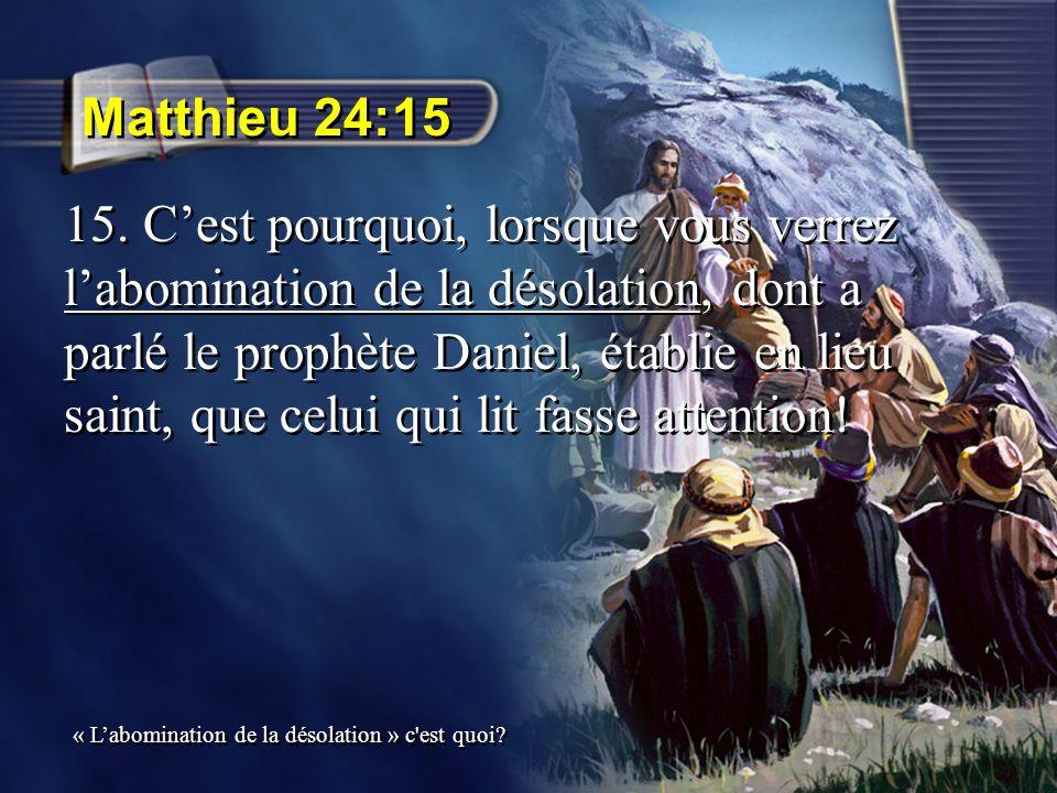 Matthieu 24:17-18 17.que celui qui désire me suivre recherche ma présence sans détour 18.